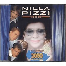 NILLA PIZZI - Io e te - 2080 CDs SINGLE 3 TRACKS 2002 SIGILLATO