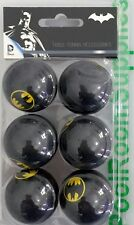 BATMAN Bat Man Table Tennis Ping Pong Balls x 6 Pack Gift Set Man Cave