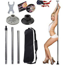 Dance Pole Full Kit Portable Stripper Exercise Fitness Club Party Dancing