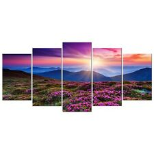 Painting Picture Photo Print on Canvas Home Wall Decor Floral Landscape Framed