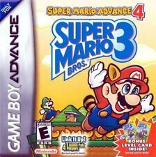Super Mario Advance 4: Super Mario Bros. 3 - Game Boy Advance GBA Game