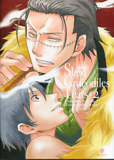One Piece YAOI Doujinshi Comic Teionyakedo (Secco) Crocodile x Luffy Shed Tears2
