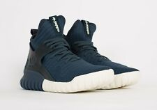 Adidas Tubular X Knit Primeknit Navy Ink Blue UK 11 NMD Ultra Boost Nova Yeezy