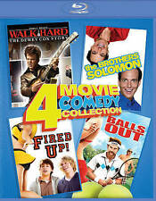 Walk Hard/The Brothers Solomon/Fired Up/Balls Out (Blu-ray Disc, 2016)