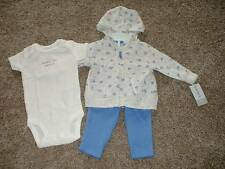 Carter's Baby Girls Little Lilac 3pc Set Outfit Size 3 Months 3M NWT NEW Clothes