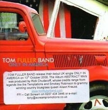 (850H) Tom Fuller Band, Only In America - DJ CD