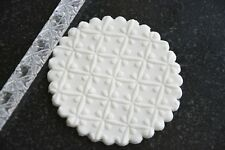 Texture embossing acrylic Rolling Pin No. 48 Flower Quilt for sugar craft