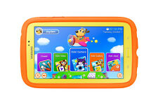Samsung Galaxy Tab 3 Kids Edition (7-Inch with Orange Bumper Case)