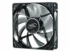 DEEPCOOL WINDBLADE 120 120mm Semi Transparent Black Fan with Blue LED