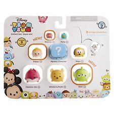Disney Tsum 9 Personaggi Per Confezione Inc Alien, Pooh & Cheshire Cat NUOVO
