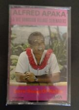 ALFRED APAKA and His Hawaiian Vallage Serenaders NEW Music Cassette FREE SHIP