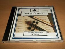 "VIOLIN CONCERTI "" MOZART, BEETHOVEN & VIVALDI "" CD ALBUM UK FREEPOST"