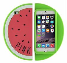 Cute 3D Watermelon Slice Soft Back Case Cover For Apple iPhone 6S / 6 4.7""