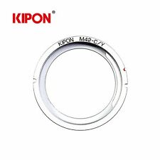 New Kipon Adapter for Carl Zeiss M42 Mount Lens to Contax/Yashica C/Y Camera
