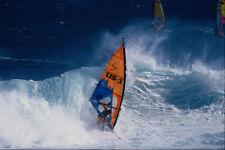 568095 en el blanco Wave Hookipa Mike Waltze A4 Foto Impresión