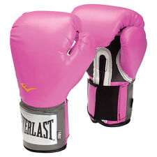 GUANTONI EVERLAST PINK PRO STYLE TRAINING MMA BOXING IT BOXE PUGILATO KICKBOXING