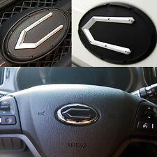 (Fit: KIA OPTIMA K5 2011 2013) Concepto Emblem 3EA Front+Trunk+Steering Horn