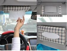 1 PCS Car sun visor Tissue box Auto accessories holder Paper napkin clip CAR021