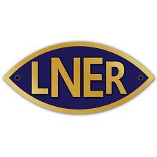 London and North Eastern Railway Sign, LNER Logo Metal Composite Railway Sign