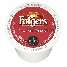 72 K-Cups - Folgers Classic Roast Coffee 2.0 - Keurig Lot