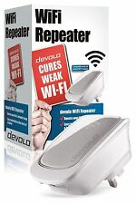 OPENED BOX DEVOLO 9423 WIFI WIRELESS REPEATER RANGE EXTENDER WITH ETHERNET PORT