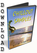 CHILLOUT  SAMPLES - REASON REFILL - STEINBERG HALION - CUBASE - FL STUDIO - WAV