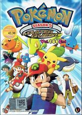 POKEMON MASTER QUEST (SEASON 5) (ENGLISH AUDIO)-COMPLETE TV SERIES DVD(1-64 EPS)