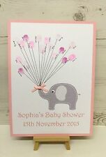 Baby Shower Fingerprint Keepsake With Inkpad A4 size