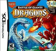 Battle of Giants Dragons CARTRIDGE MINT Nintendo DS Game