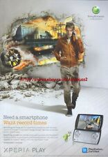 "Xperia Play ""Sony Ericsson"" 2011 Magazine Advert #4412"