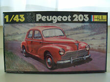 HELLER PEUGEOT 203 1/43 MODEL KIT (SEALED)
