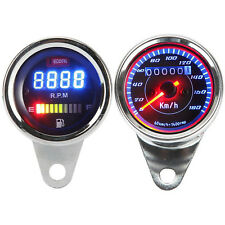 Speedometer Tachometer Fuel Gauge For Honda Yamaha Harley Cafe Racer Cruiser
