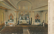 Hawley PA * Interior of St. Philomena's Church 1911 * L. Hensel Pub. Wayne Co.