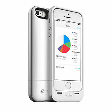 Mophie 32 Gb De Memoria & 1700mAh batería Power Banco Funda Protectora Para Iphone 5 5s Blanco