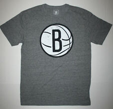 Adidas NBA Brooklyn Nets Logo Tee AL9854 Men's Medium (M) Dark Gray Heather