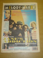 MELODY MAKER 1991 FEB 23 JANES ADDICTION SOHO MOOSE