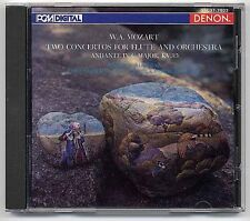 Mozart CD 2 Concertos For Flute And Orchestra 1st JAPAN