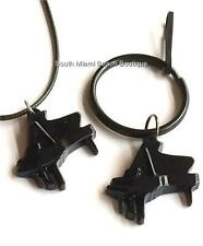 Black Grand Piano Keyboard Necklace Keychain Tag Musician Music Teacher Gift USA