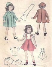 "VINTAGE 16"" HONEY DOLL CLOTHES PATTERN 5090"