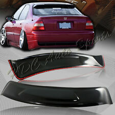 For 1994-1997 Honda Accord Sedan ABS Sun Shade Rear Roof Window Visor Spoiler