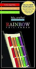 Majestic? Rainbow Bible Tabs (2009, Picture Book)
