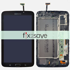 New Samsung Galaxy Tab 3 7.0 T210 T211 LCD Display Touch Screen Digitizer Frame