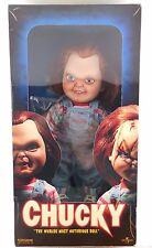 """Sideshow Chucky Good Guy 14"""" Doll Childs Play Figure in Box MIB Rare"""