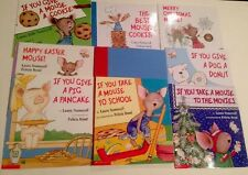 9 Laura Numeroff Picture Books Lot If You Give A Mouse Cookie Teacher Scholastic