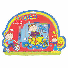 "Father's Day Fun ""No. 1 Dad"" Novelty Voucher Book with Stickers and Pen"