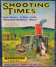 Magazine SHOOTING TIMES, June 1965 !HANDGUNS of WWI: Mauser, S&W, Nagant, Luger!