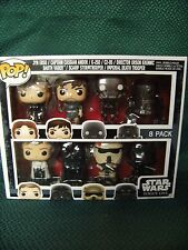 Star Wars Rogue One Disney Store Exclusive Piece Funko Pop Vinyl Bobblehead Set