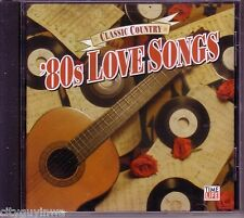 TIME LIFE Classic Country 80s LOVE SONGS 2005 Various Artists CD Terri Gibbs