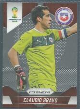 PANINI PRIZM 2014 WORLD CUP- #041-CHILE-CLAUDIO BRAVO
