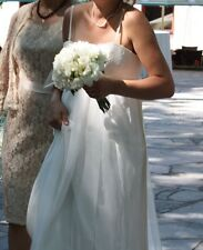 Mandy Madeline Gardner Beach/ Rustic Wedding Dress Uk10